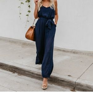 Pants - VICI COLLECTION - Cambridge Pocketed Jumpsuit